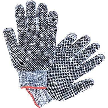 Zenith Safety Multicolour Poly/Cotton Dotted Gloves, 120/Pack