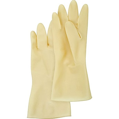 Zenith Safety Natural Rubber Latex Gloves, 72/Pack