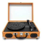 Pyleaudio® PVTT2U Retro Belt-Drive Turntables W/USB-to-PC Connection, Rechargeable Battery