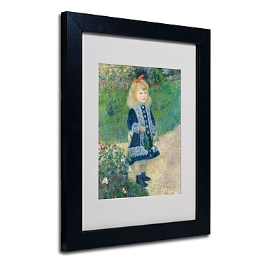 Trademark Fine Art 'A Girl With a Watering Can'