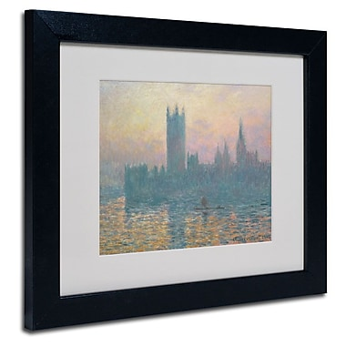 Trademark Fine Art 'The Houses of Parliament'
