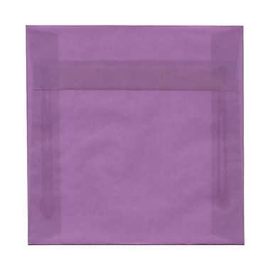 JAM Paper® Square Stardream Metallic Envelopes with Gum Closures 6