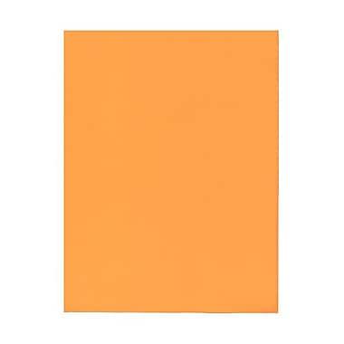 JAM PaperMD – Papier cartonné Brite Hue, 8-1/2 x 11 po, orange intense