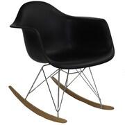 HomeBelle Microfiber Armless Swivel Chair (78102S5)