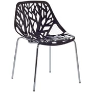 """Modway Stencil 31""""H Plastic Dining Side Chairs"""
