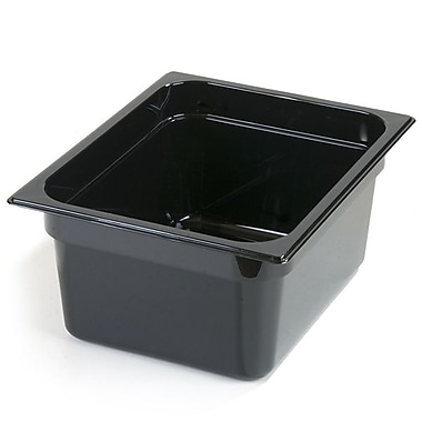 One-Half Size PC Food Pans - 6'' (8.7 qt)