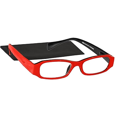 Peeperspecs® Happy Red Peepers Red/Black Reading Glasses