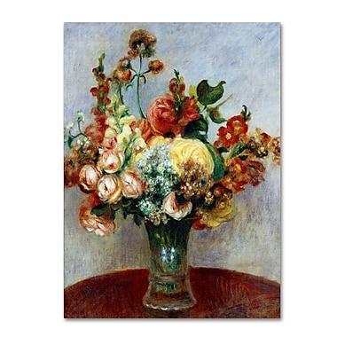 Trademark Fine Art 'Flowers In a Vase 1898'