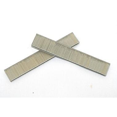 Crisp-Air Narrow Crown Staples, Divergent, Galvanized, 18 Gauge, 5,000/Pack