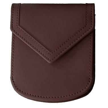 Royce Leather – Portefeuilles City à estampage doré pour nom complet, coco