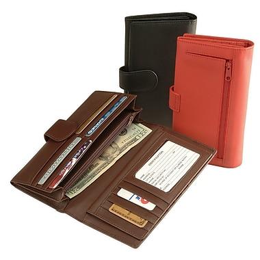 Royce Leather – Pochette pour cartes de crédit, noir