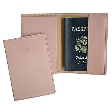 Royce Leather Passport Jacket, Carnation Pink (203-CP-5)