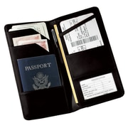 Royce Leather Executive Passport Travel Document Wallet in Genuine Leather
