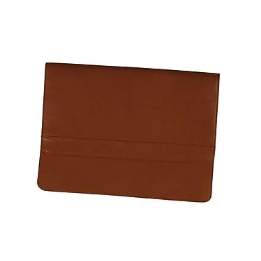 Royce Leather - Serviette à rabat, beige
