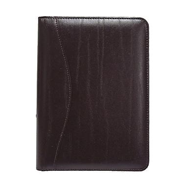 Royce Leather Junior Writing Leather Padfolio, Burgundy