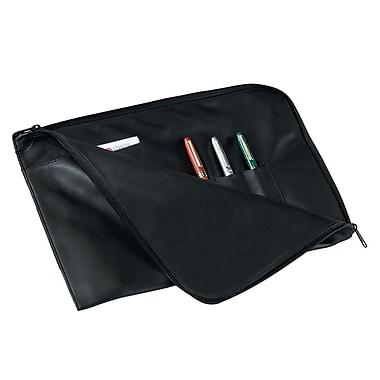 Royce Leather – Porte-documents en cuir et agenda, noir