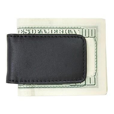 Royce Leather – Pince à billets magnétique classique en cuir, noir