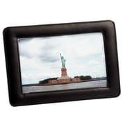 Cadre photo simple de Royce Leather, 4 x 6 po, noir