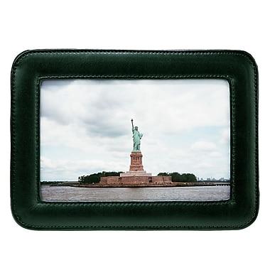 Royce Leather – Cadre photo simple de 4 x 6 po, vert