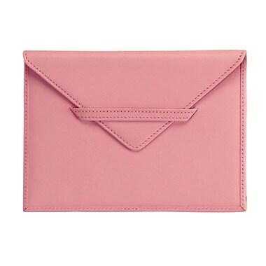 Royce Leather Envelope Photo Holder, Carnation Pink