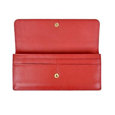 Royce Portefeuille pour femmes avec blocage RFID, rouge