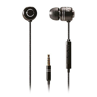 BOOM Commander In-Ear Headphones With 3 Button Mic