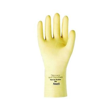 Ansell – Gants en latex de 12 po, bord coupé, fini texturé, naturel