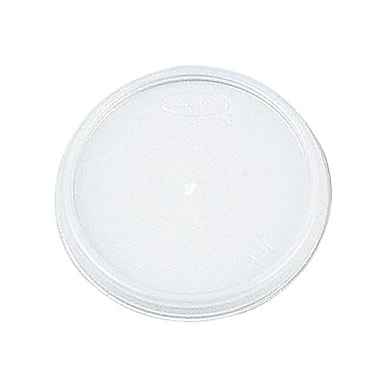 Dart® Translucent Plastic Vented Lid For Cups