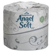 Georgia Pacific – Papier hygiénique gaufré 2 épaisseurs de qualité supérieure Angel Soft 4 x 4,05 po, blanc