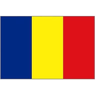 International Flag - Chad