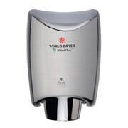 World Dryer® SMARTdri™ 110 - 120 V High-Efficiency Intelligent Automatic Hand Dryers