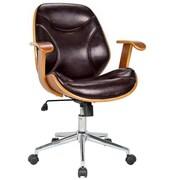Boraam Bentwood Steel Base Rigdom Desk Chairs