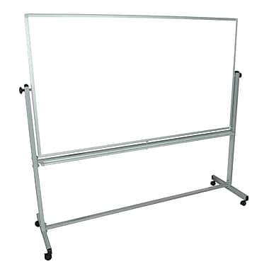 Luxor® Double Sided Aluminum Frame Magnetic Whiteboards