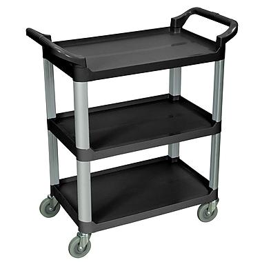 Luxor® 3 Shelves Dual Handle Serving Carts