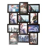 Nexxt – Cadre à collage mural Array, 12 ouvertures, 12 photos 4 x 6 po