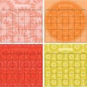 "Dry Erase 4 Month Calendars, 13"" x 13"", 4 Stickers"