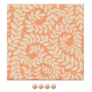 Tableau en tissu et punaises, 16 x 16 x 3/4 po