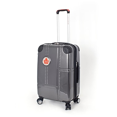 Trans Canada Airlines – Valise à roues multidirectionnelles extensible Lockheed, 24 po