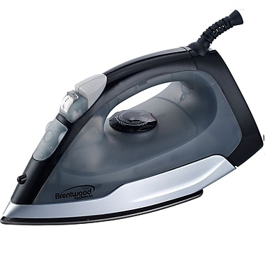 Brentwood 1000 W Non-Stick Steam/Dry/Spray Irons
