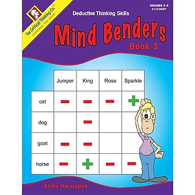 The Critical Thinking Co™ Mind Benders Book 3 Deductive Thinking Skills Book (CTB01333BBP)