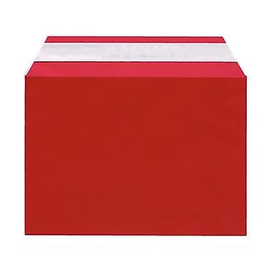 JAM Paper MD – Sachets en cellophane, 5 x 7 1/6 po, rouge