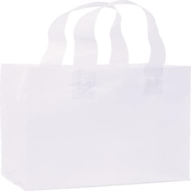 Bags & Bows® Frosted High Density Shoppers, 8