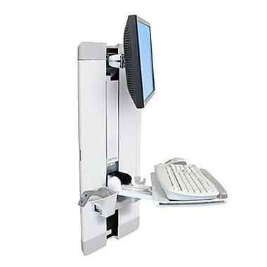 ErgotronMD – Système d'ajustement vertical StyleViewMD 60-609-216 pour écran plat 24 po