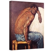 """ArtWall """"The Negro Scipion"""" Gallery Wrapped Canvas Arts By Paul Cezanne"""