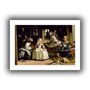 "ArtWall ""Las Meninas"" Flat Unwrapped Canvas Arts By Diego Velazquez"
