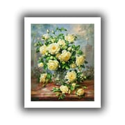 """ArtWall """"Princess Diana Roses in a Cut..."""" Unwrapped Canvas Arts By Albert Williams"""