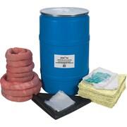 Trousses écologiques de déversement, 55 gallons