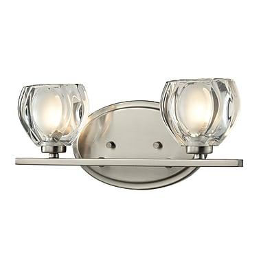 Z-Lite Hale (3022-2V) 2 Light Vanity Light, 3.75