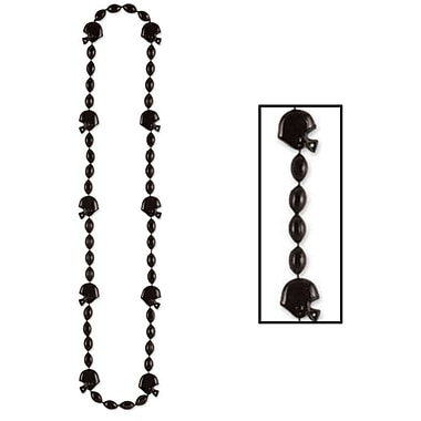 Collier de perles football, 36 po, 6/paquet