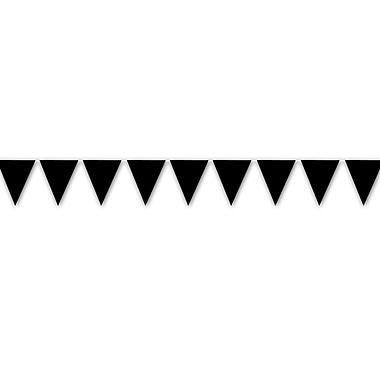 Bannières à fanions intérieures/extérieures, 10 po x 12 pi, 4/paq.